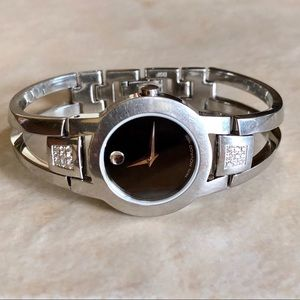 Movado Amorosa Watch Diamond Bracelet Style Band